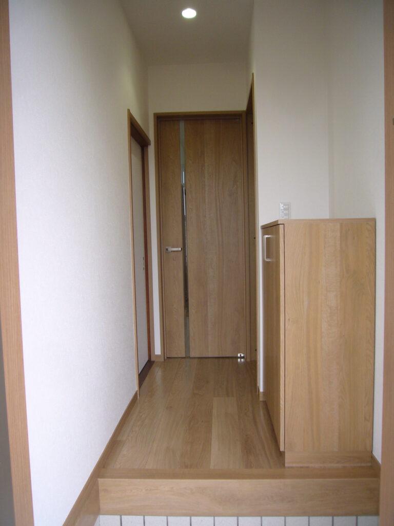 入口廊下の画像です。