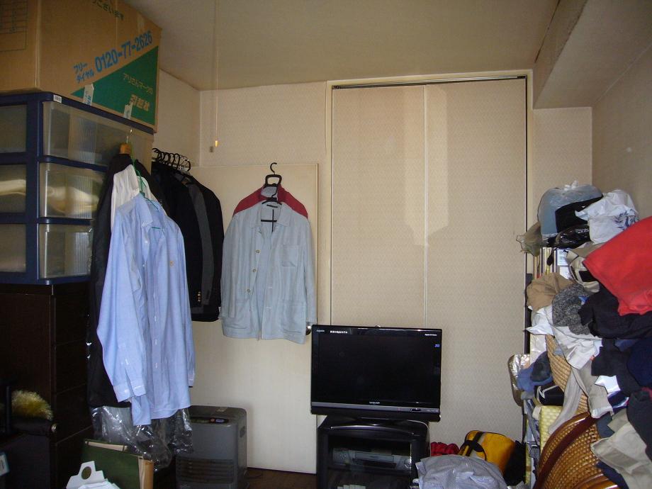 寝室の施工画像です。