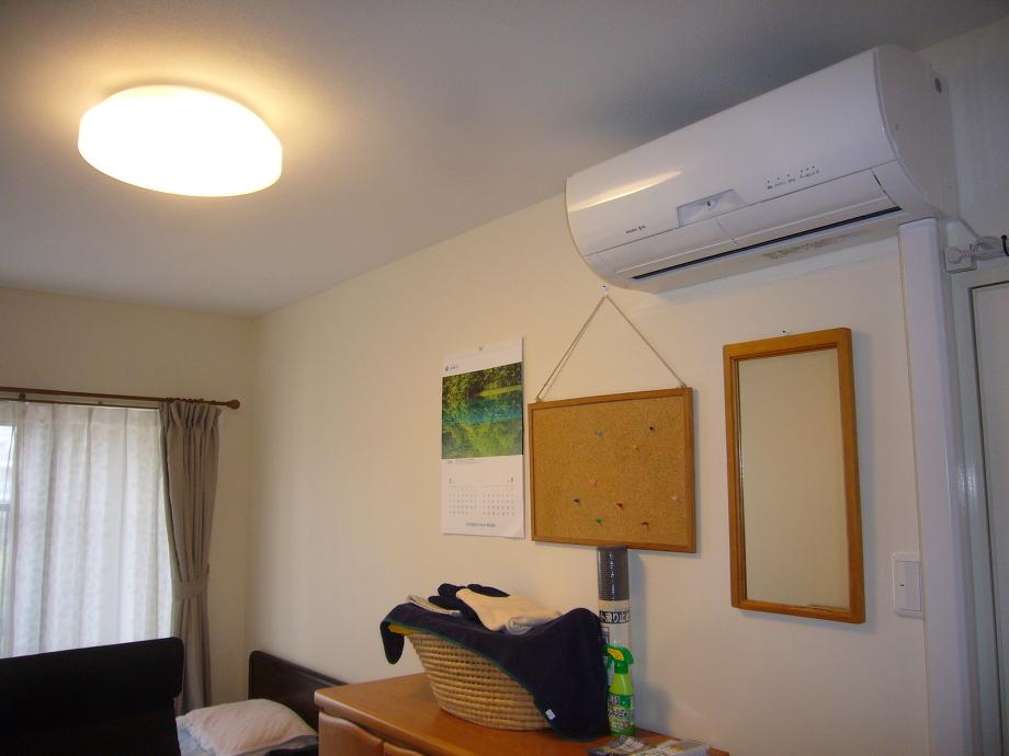 生活に必要な家具も新たに取り揃えられて気分一新スタートです。
